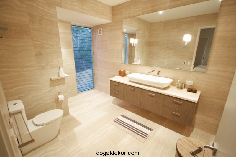 Bathroom shower ideas - Yen Banyo Dekorasyon Traverten Do Al Ta Do Al Dekor Blog