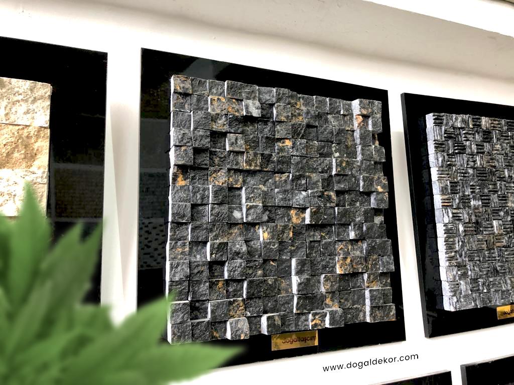 Siyah Duvar Kaplama Taşları