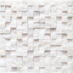 Simli Beyaz Mermer Patlatma
